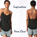 Vena Cava silk safety pin tank top DIY