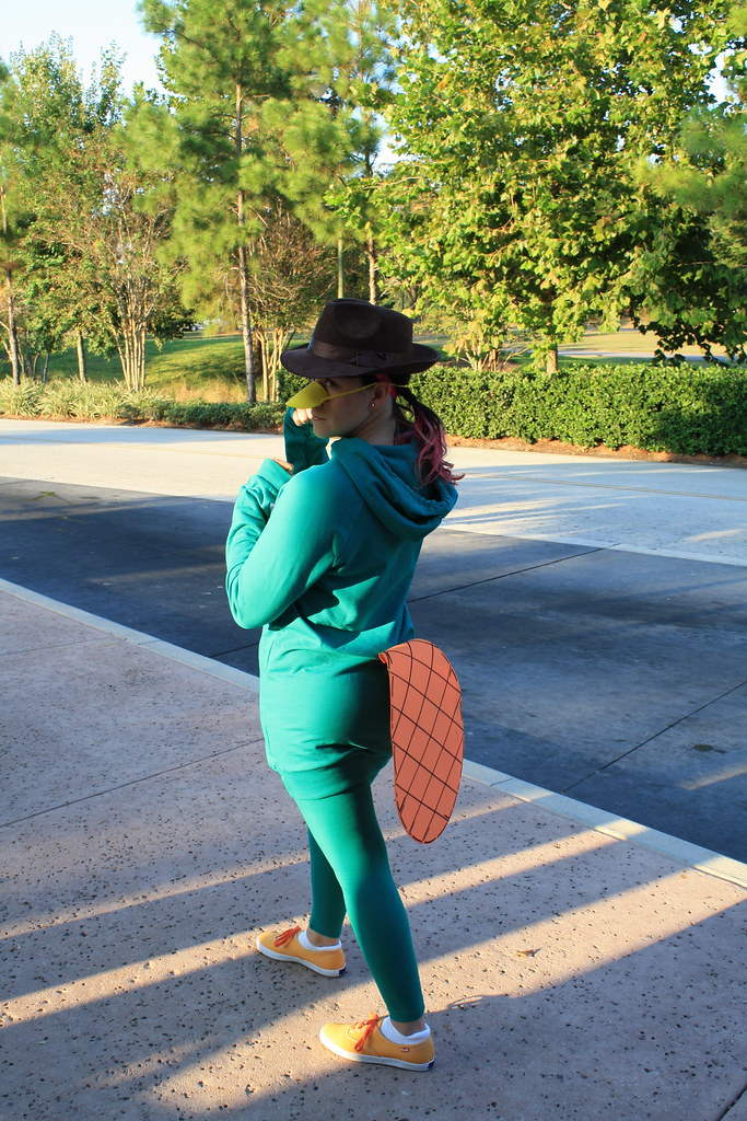 perry the platypus my agent p costume for mickeys not