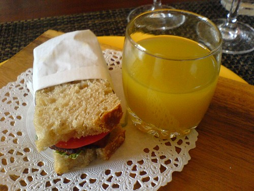 BLT and gazpacho | by clotilde