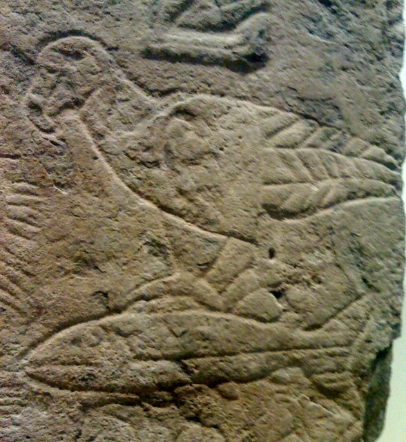 Pictish stone carving june  pm from