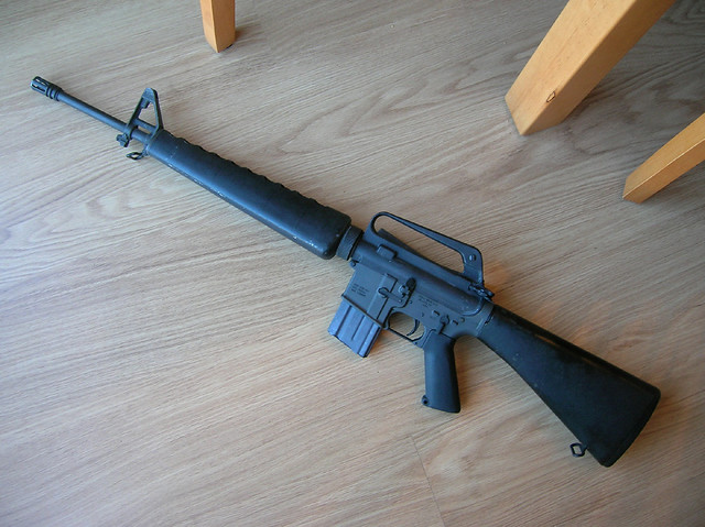AR-15A1 | A1 build from a vintage Colt A1 upper, vintage A1 ...