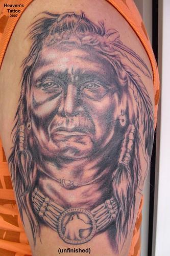 Indianer Tattoo   Flickr - Photo Sharing!