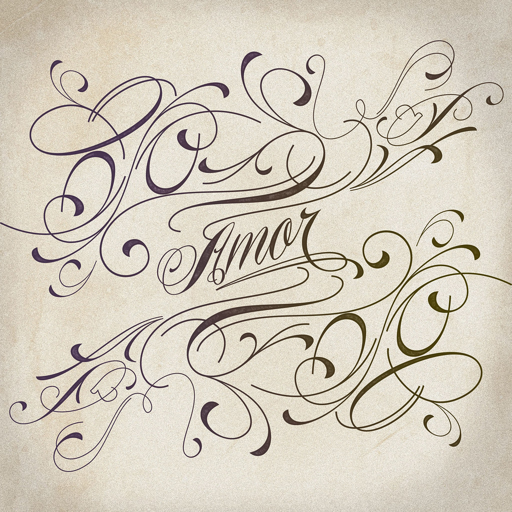 Piel Script Veer Piel Script Amor | Flickr
