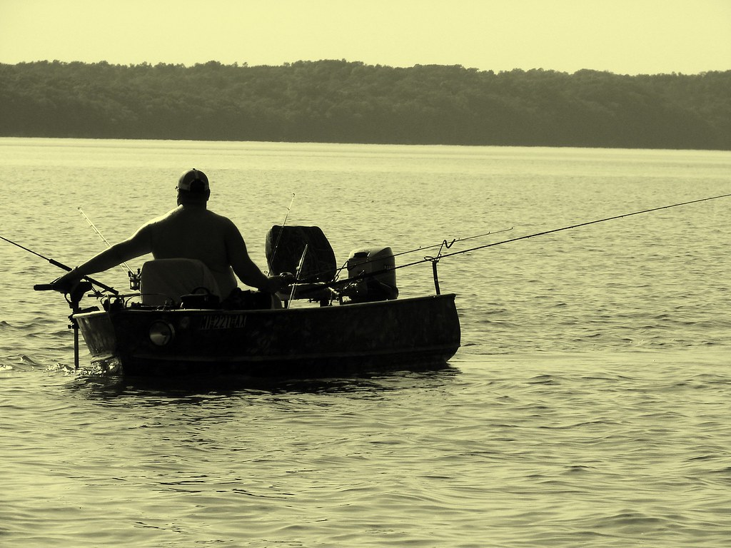 Hoping for a good day while fishing with my dad we came for Good day for fishing