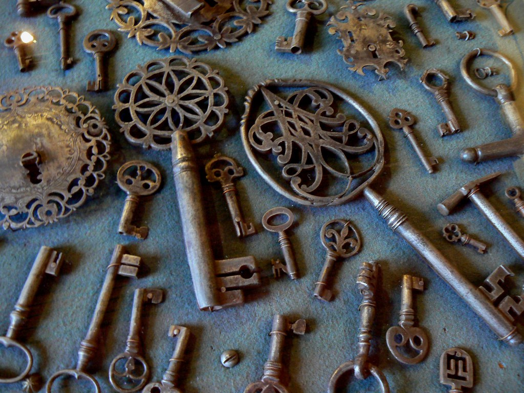 Antique Keys Museo Del Virreinato Slp The Art Of