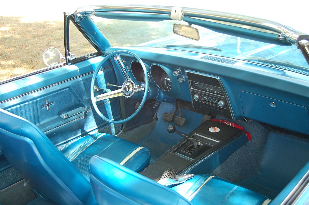 "1967 Camaro Rs >> 1967 Camaro interior | Taken during the 2007 ""Red Barns Spec… 