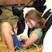 Girl & Cow