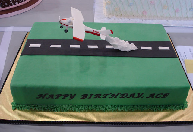 Aircraft Cake Decorations