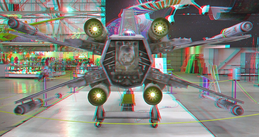 star wars x wing anaglyph 3d wings over the rockies muse flickr. Black Bedroom Furniture Sets. Home Design Ideas