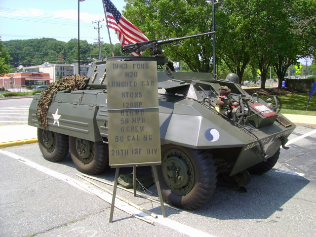1943 Ford M20 Armored Car Maryland Motor Vehicle