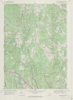 Marlborough Quadrangle 1967 - USGS Topographic Map 1:24,000 | by uconnlibrariesmagic