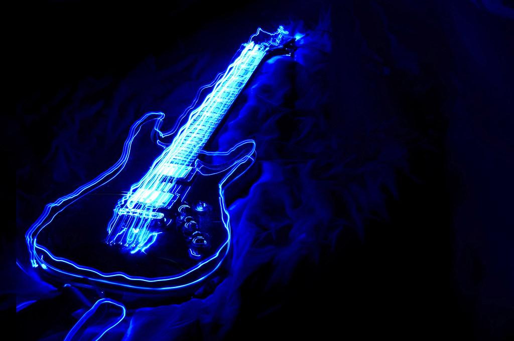 Fender Light Blue Guitar Paint