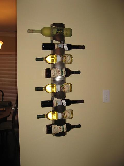 Ikea wine rack flickr photo sharing for Ikea wine shelf