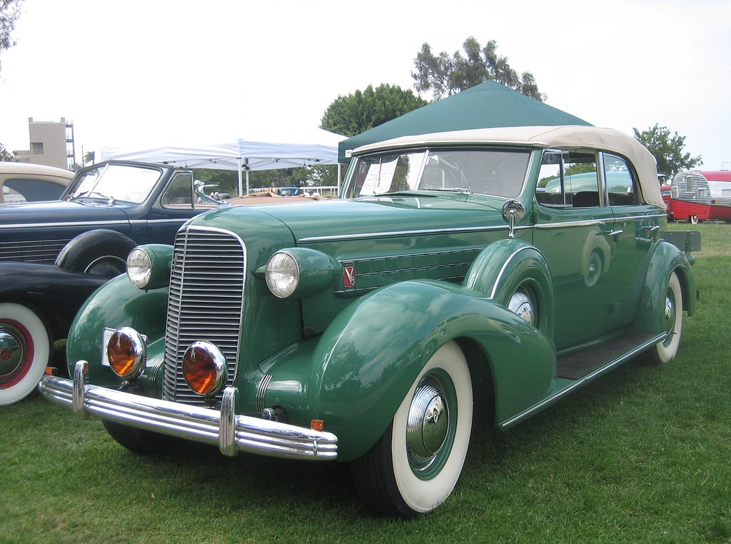 cadillac 4 door convertible 1936 national city ca. Black Bedroom Furniture Sets. Home Design Ideas