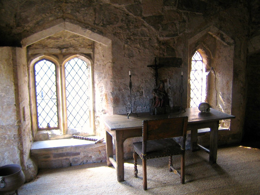 Gothic Interiors Edward Ii S Cell Interior The Cell In Berkeley Castle