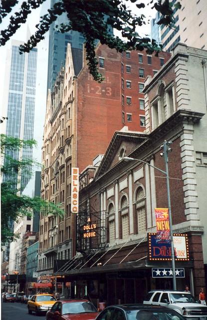 belasco theater new york city: