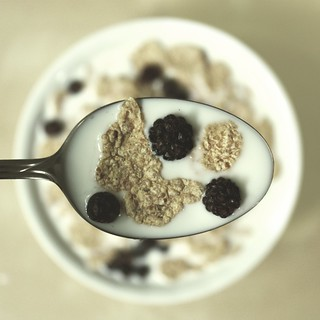 Flakes with Black Berrys | by donchris!™