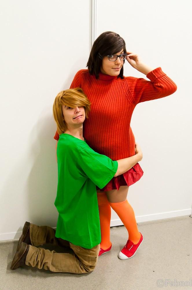 Chibi Japan Expo 2010 - cosplay - Sammy & Vera (Scooby-Doo ...