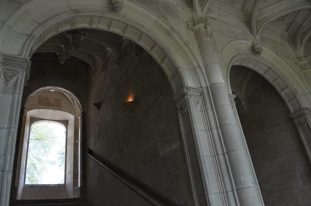 ch teau d 39 azay le rideau escalier et plafond caissons flickr. Black Bedroom Furniture Sets. Home Design Ideas