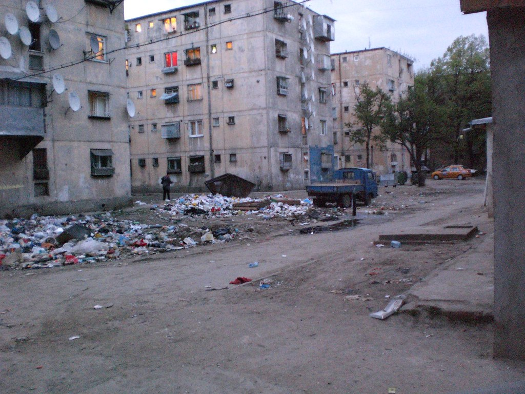 GARBAGE MOUNTAIN HIGH AND INFESTATION OF RATS, BUCHAREST G ...