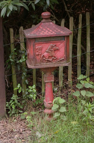 Old Letter Box By A Farm | by Mike Serigrapher