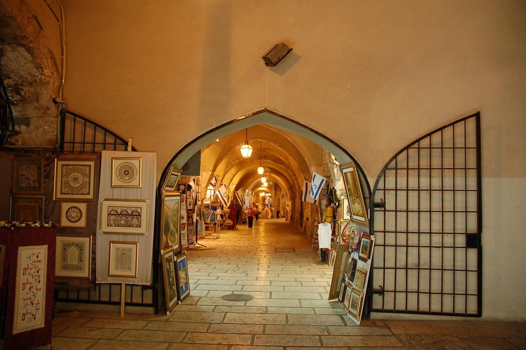 Report From Jerusalem >> Old City Jewish Quarter - Cardo - Jerusalem Israel   Flickr
