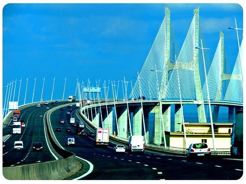Puente Vasco Da Gama Lisboa By Marta Jimenez