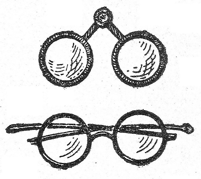 Old Glasses Drawing Old Glasses / Lunetas | by