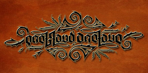 Ambigram - One Blood One Love (color) | by revcruz