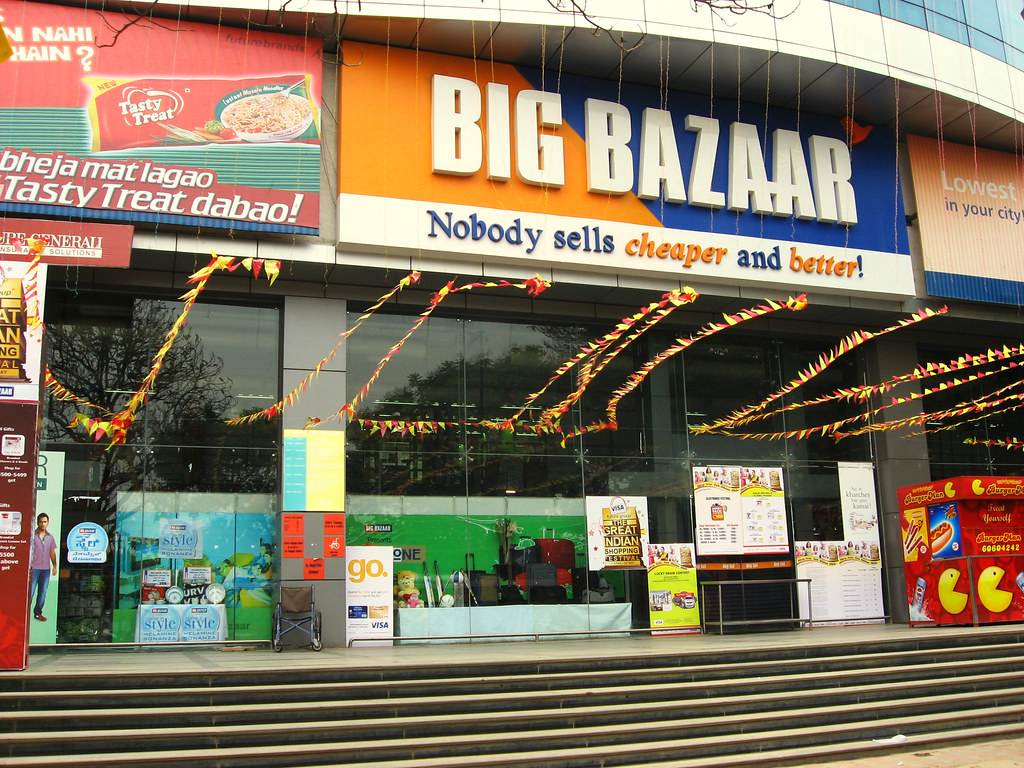 big bazaar The purpose of this paper is to examine the extent to which indian consumers of  different demographic groups vary in terms of shopping mall visits (frequency of.