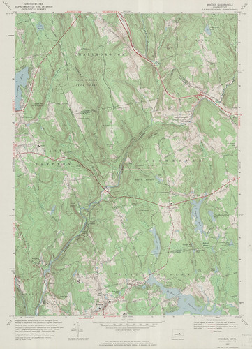 Moodus Quadrangle 1967 - USGS Topographic Map 1:24,000 | by uconnlibrariesmagic