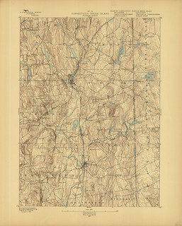 Putnam Sheet 1889 - USGS Topographic Map 1:62,500 | by uconnlibrariesmagic