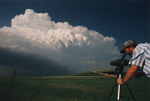 Me Shooting a Supercell Thunderstorm near Meade, Kansas | Flickr