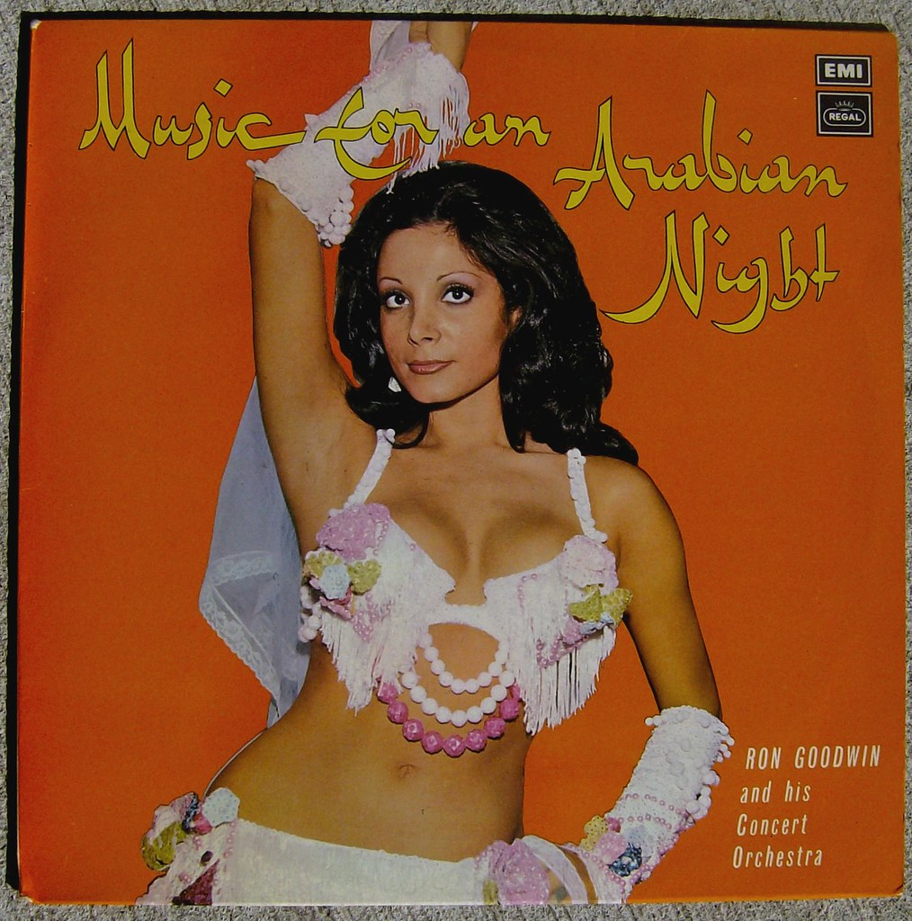 Ron Goodwin And His Concert Orchestra Music For An Arabian Night