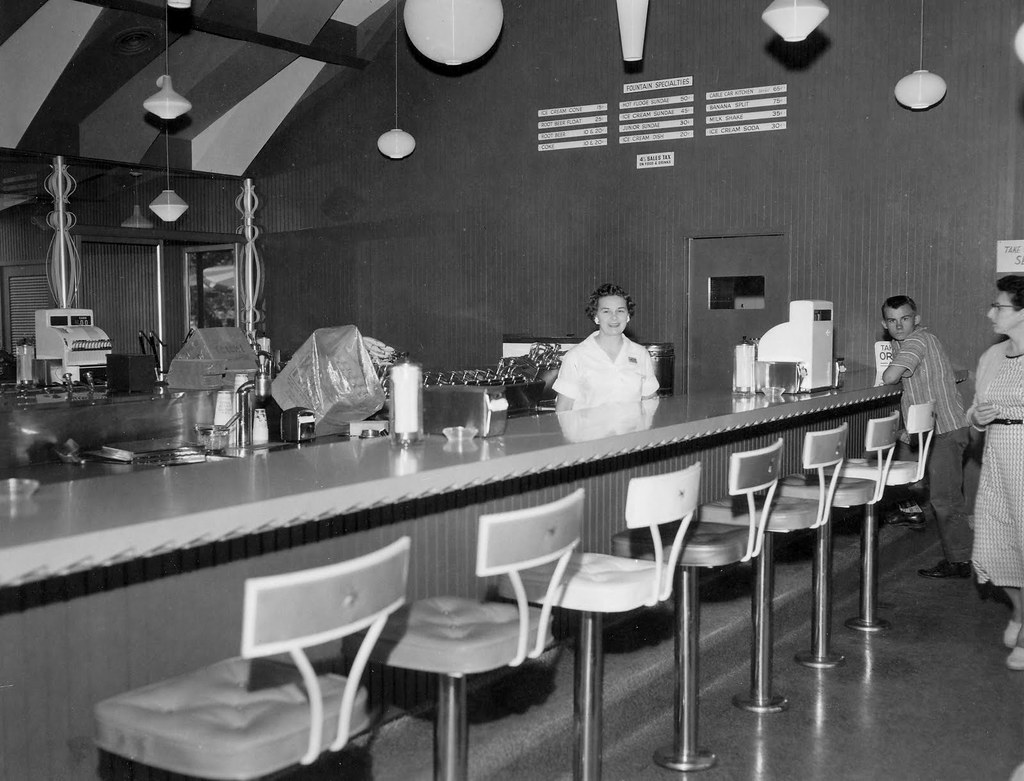 Cable Car Kitchen, Knott's Berry Farm, 1950s | There are ...