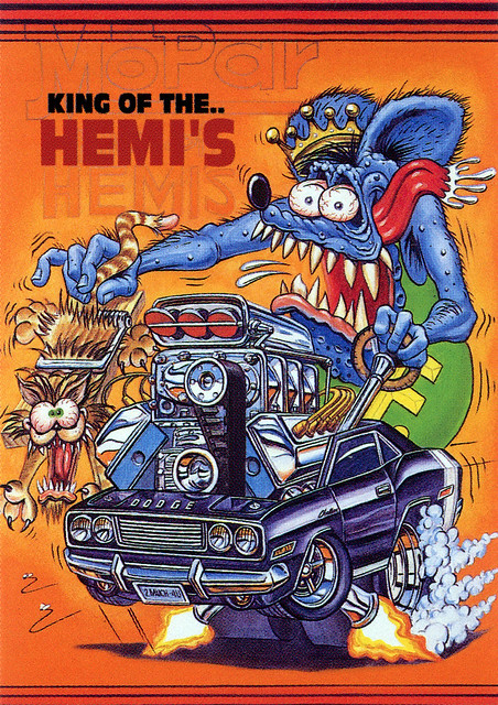 Rat Fink Ed Big Daddy Roth King Of The Hemis