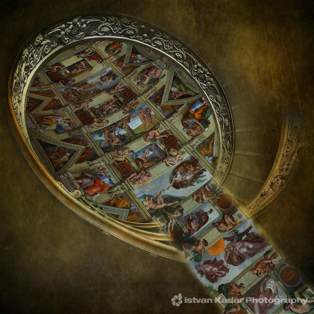Nine Scenes From The Book Of Genesis Sistine Chapel