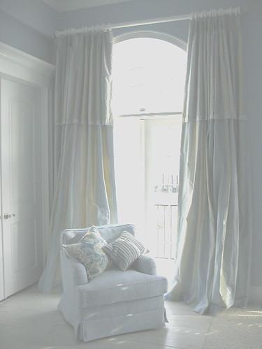 Palladian Window Silk Curtains Custom Pickled Floors Flickr Photo Sharing
