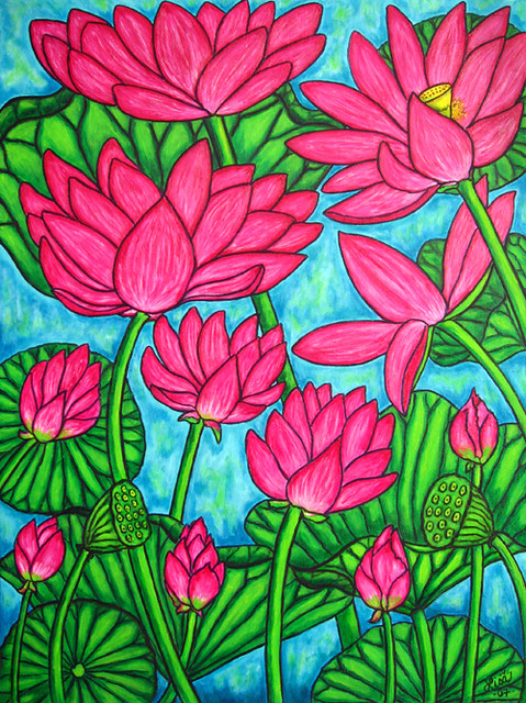 Naive Glass Paintings