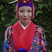 Okinawan girl in traditional costume at Shuri Castle (Full Jpeg quality 11)