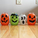 Halloween Tissue Paper Jar Lanterns
