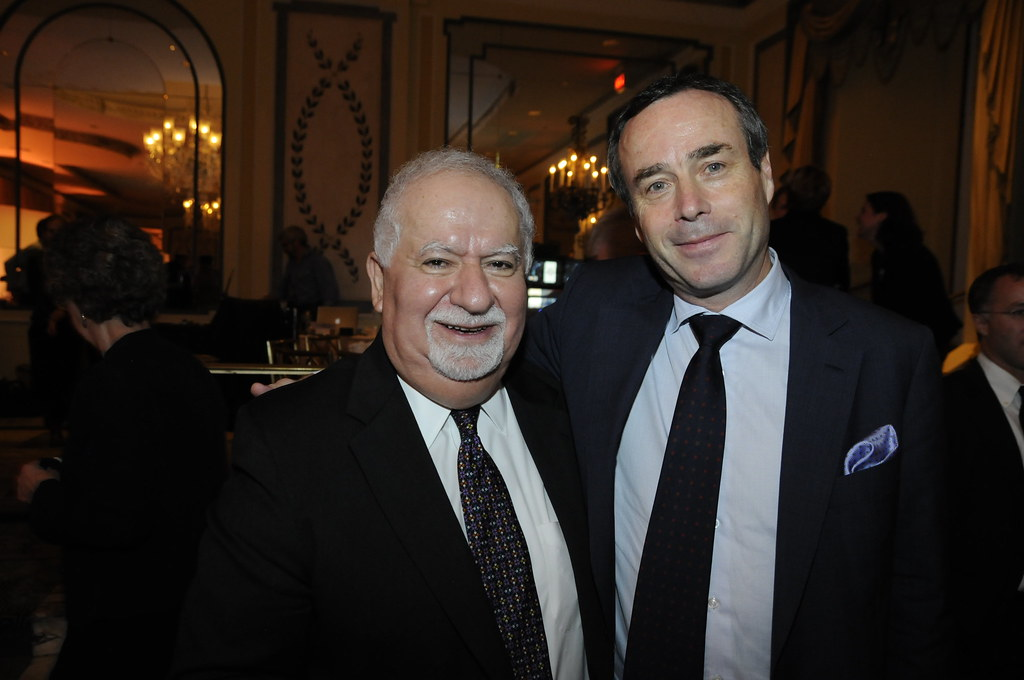 Barber Financial : Vartan Gregorian and Lionel Barber Financial Times Flickr