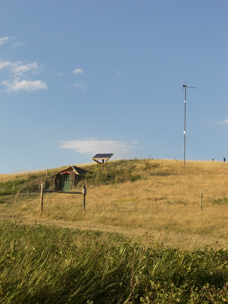 Root cellar, solar panels, windmill | Scott and Kate have a ...