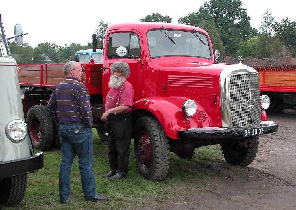 oldtimer day ruinerwold 1950 mercedes benz 3500 truck flickr. Black Bedroom Furniture Sets. Home Design Ideas