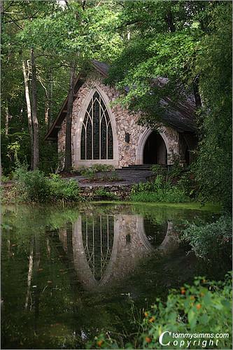 Reflecting ida cason memorial chapel copyright tommy - Callaway gardens pine mountain georgia ...