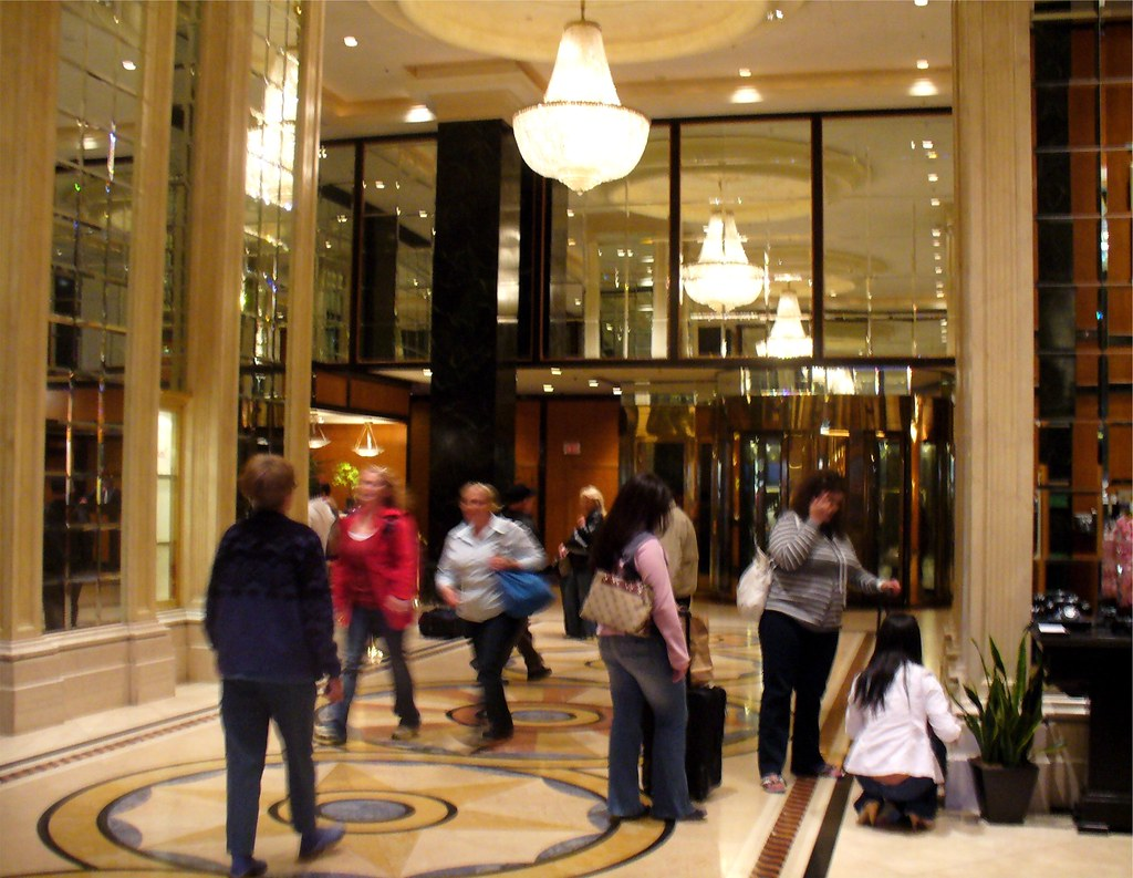 The Westin St Francis Hotel Lobby San Francisco Califor