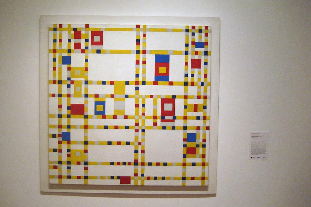 Nyc Moma Piet Mondrian S Broadway Boogie Woogie Flickr