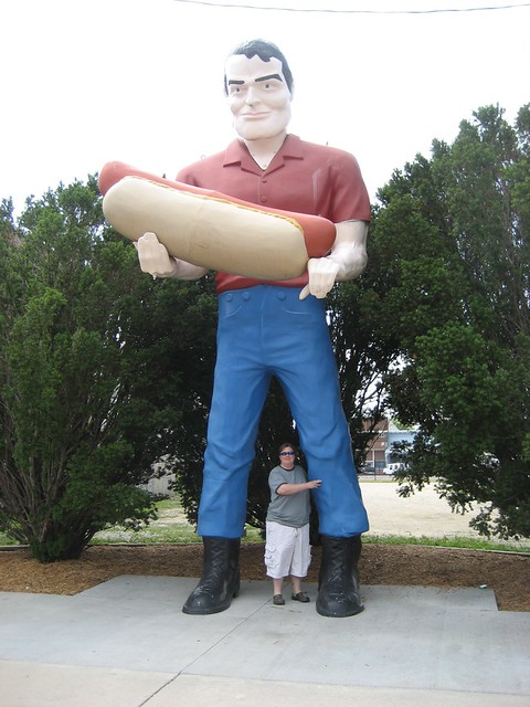 Hot Dog Statue For Sale
