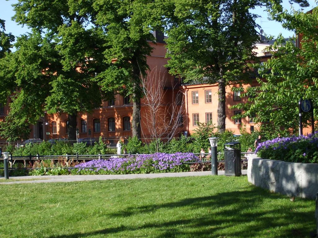 Flower Gardens Uppsala Was Full Of Well Tended Flower Gard Cjewell Flickr