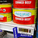 Electronic shelf prices and corned beef